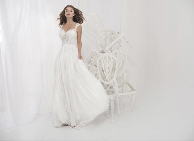 Ella Rose Bridal Gown White Designer Studio Navan